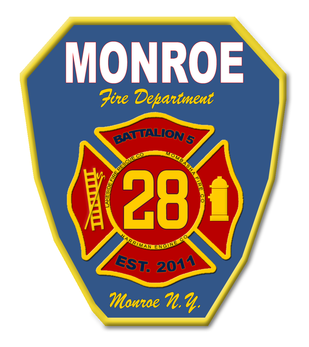 Monroe Joint Fire Badge